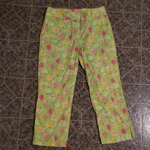 Lilly Pulitzer Capri Pants (size 4)